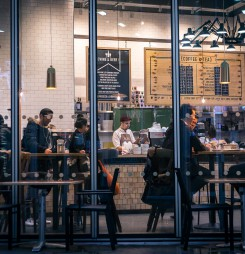 How important is the coffee shop to the high street?