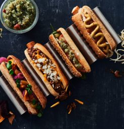 Danish Bakery's New American Style Hot Dog